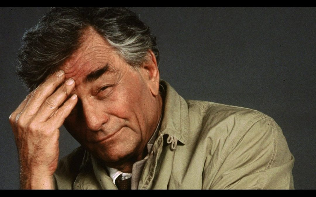 Columbo Deals With God as the Author of Sin